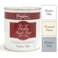 Rustins Chalky Finish 500ml - Windsor White